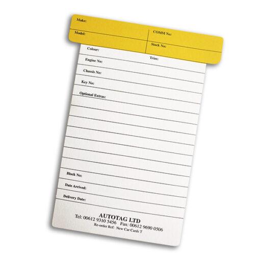 Yellow-T-Card
